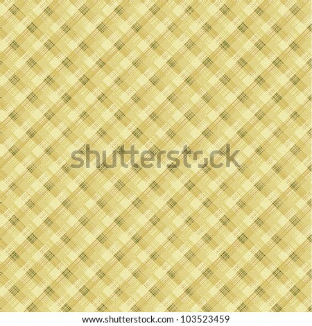 Textile plaid background, plus seamless pattern included in swatch palette (pattern fill expanded)
