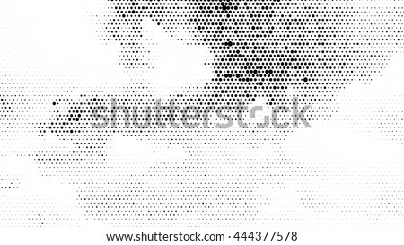 texture abstract geometric dots background pixel pattern vector dot distressed art