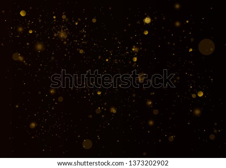 Texture background abstract black and white or silver Glitter and elegant for Christmas. Dust white. Sparkling magical dust particles. Magic concept. Abstract background with bokeh effect. #1373202902