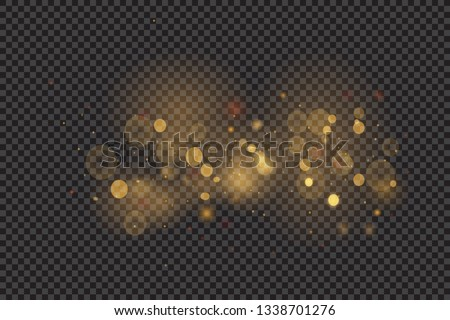 Texture background abstract black and white or silver, gold Glitter and elegant for Christmas. Dust white. Sparkling magical dust particles. Magic concept. Abstract background with bokeh effect