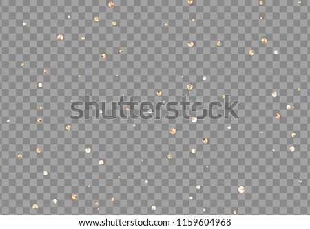 Texture iridescent precious diamonds. Rhinestone gems on transparent background.