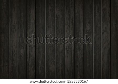 texture of black wooden