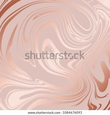 Texture of marble with imitation of rose gold. Rose marble for the design of surfaces, covers, packaging, invitations
