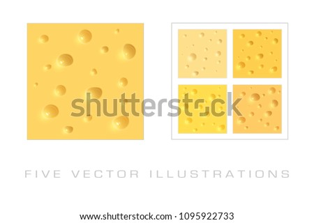 Texture of the cheese background. Graphic concept for your design