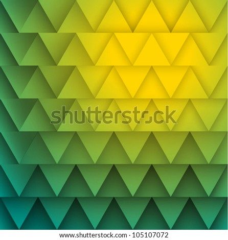 Texture of triangles. Vector illustration.