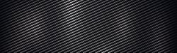 Texture panorama of black carbon fiber