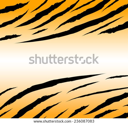 textured of bengal tiger fur background illustration