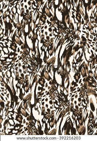 textured pattern  leo spots