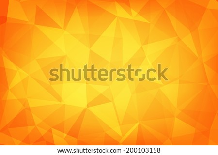 Textures abstract geometric orange colour background eps 10 vector