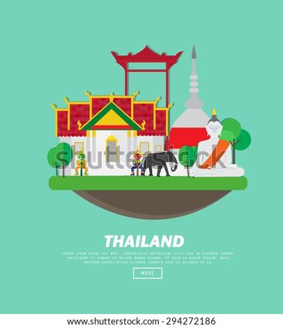 thailand concept   vector