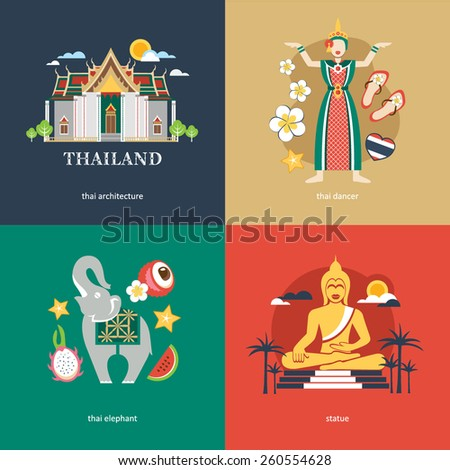 thailand flat travel