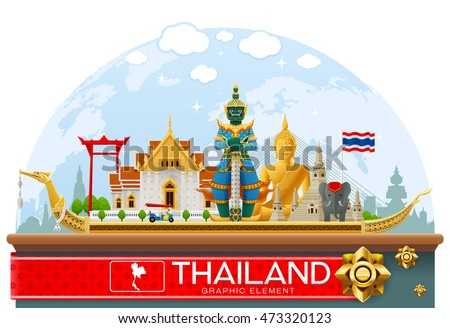 thailand landmark and travel place,temple,background