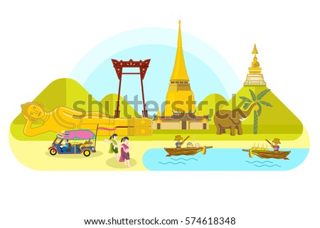 thailand landmark landscape