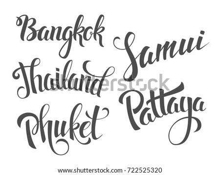 Pattaya Beach Bangkok Vector - Download Free Vector Art, Stock ...