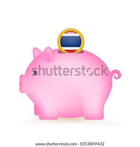 Thailand Piggy Bank Savings