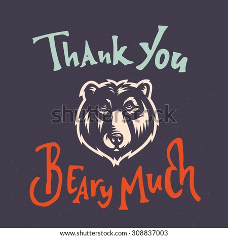thank you beary much funny