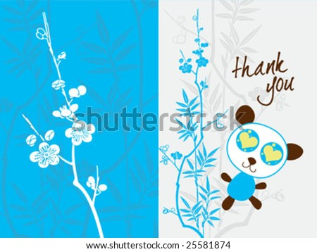 thank you card ideas. baby shower thank you card
