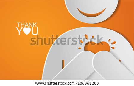 stock-vector-thank-you-card-vector-illustration