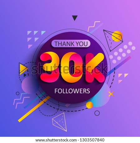 thanks for the 30000 followers