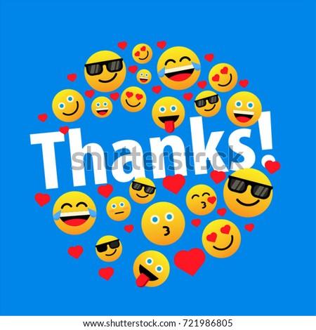 thanks with emoji
