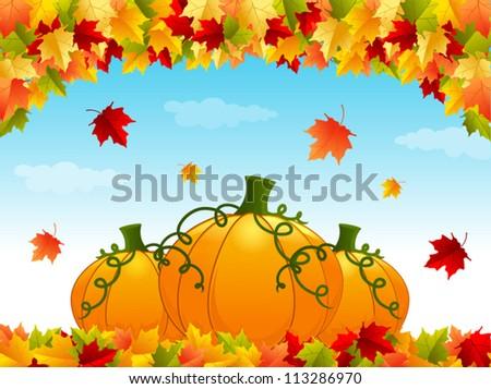 Thanksgiving - stock vector