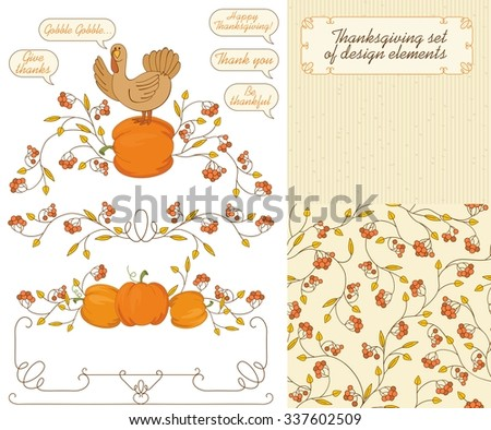 Thanksgiving Frames And Templates - Download Free Vector Art, Stock ...