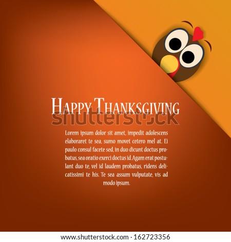 thanksgiving card vector design