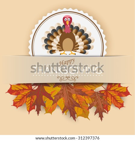 thanksgiving cover design with