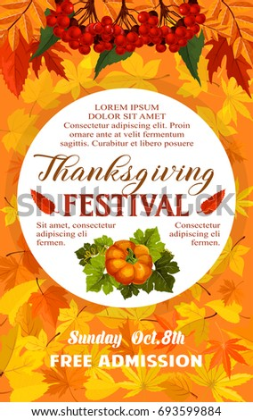 thanksgiving day festival