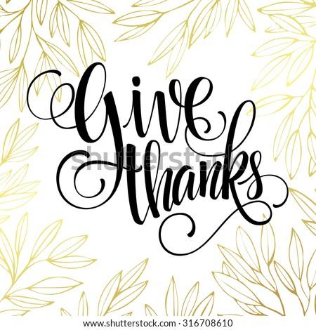 thanksgiving   gold glittering
