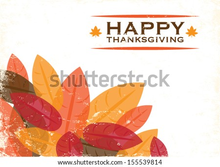 thanksgiving leaves