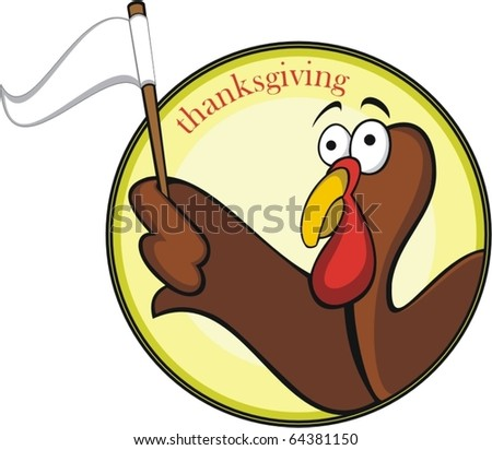 thanksgiving turkey/vector