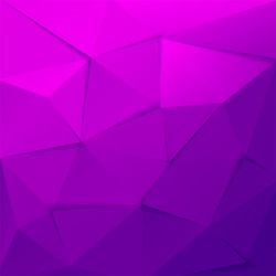 The abstract geometric 3D background. Vector illustration.