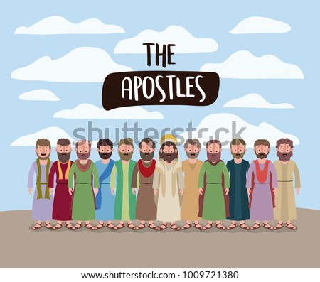 the apostles and jesus in daily