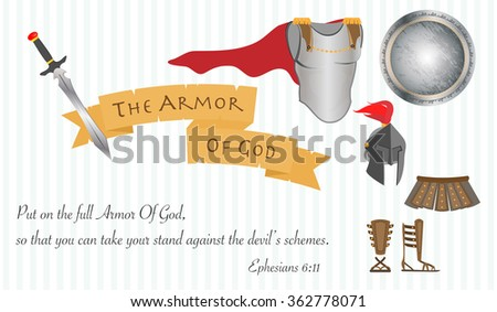 the armor of god as a symbol of