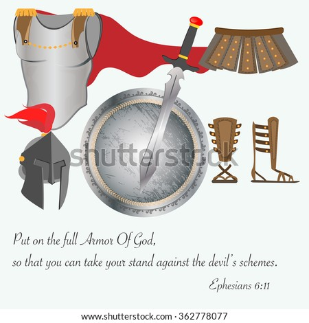 the armor of god as equipment