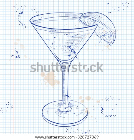 the bacardi cocktail on a