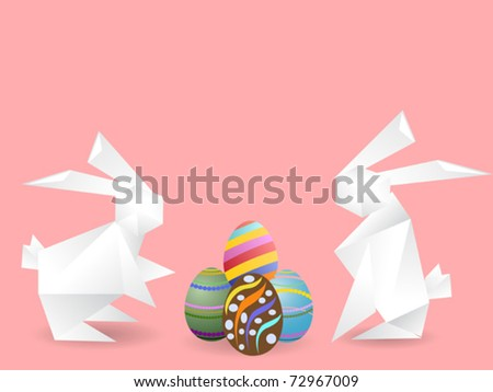 easter eggs designs on paper. eggs for easter design