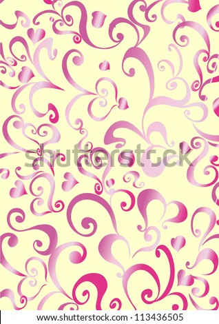 the background with decorative