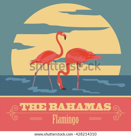 the bahamas landmarks retro