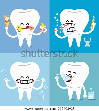 the basic rules for a healthy oral hygiene