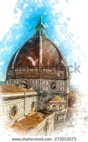 the basilica di santa maria del