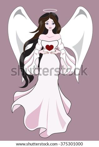 the beautiful fantastic angel
