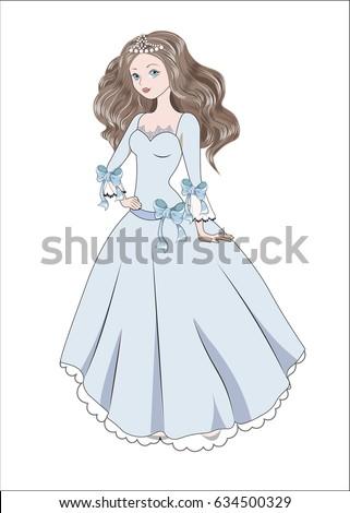 the beautiful fashionable girl