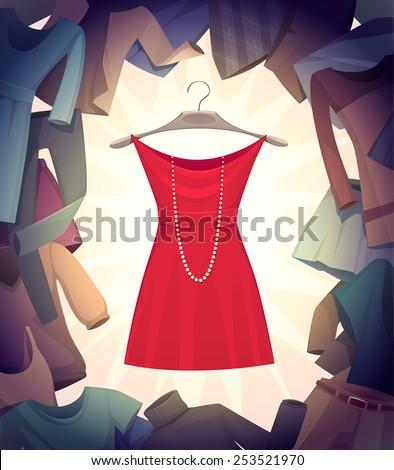 the best dress vector