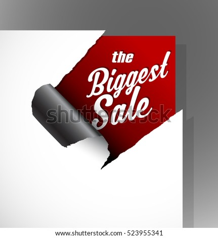 the biggest sale text uncovered