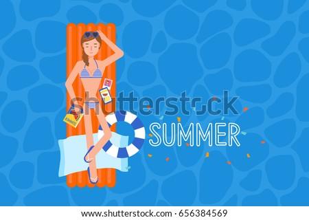 the bikini girl on the