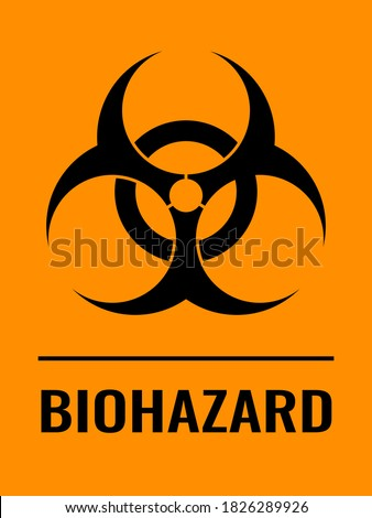 the biohazard sign the