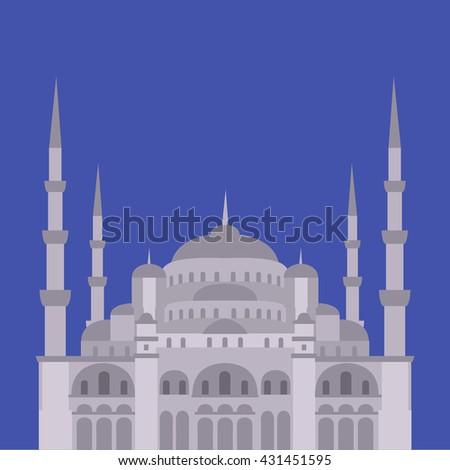 the blue mosque  sultanahmet