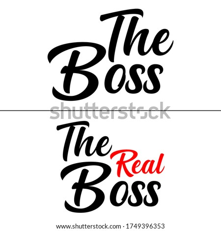 the boss the real boss